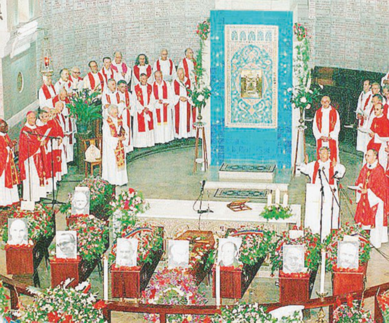 I 7 monaci di Tibhirine decapitati 20 anni fa dai salafiti del Gia in Algeria