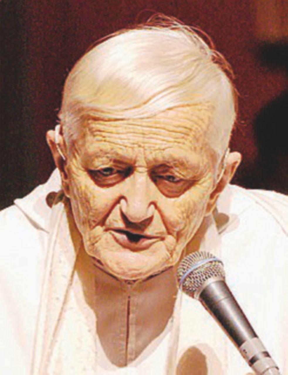 Frère Roger, il monaco accoltellato da una squilibrata nel 2005