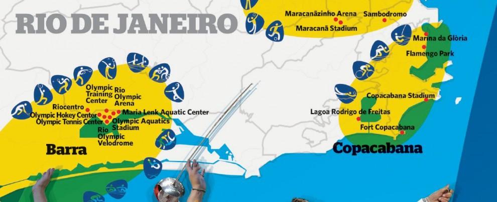 """""""Rio nuovo mondo"""": i Giochi sperano nella """"pace olimpica"""""""
