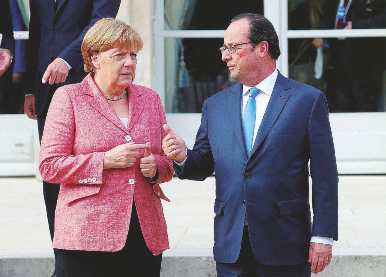 Francia e Germania, cuore impaurito d'Europa