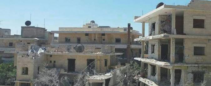 Siria, mamme e neonati finiscono sotto le bombe