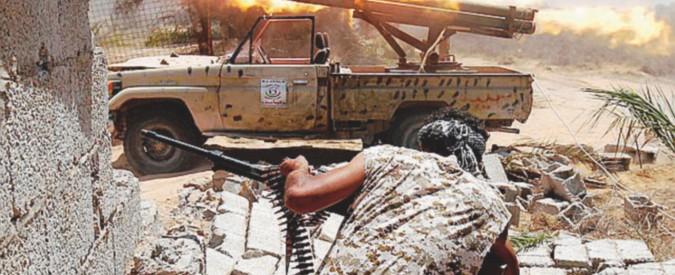 """""""Con l'aiuto dei militari di Roma e degli inglesi stiamo liberando Sirte"""""""
