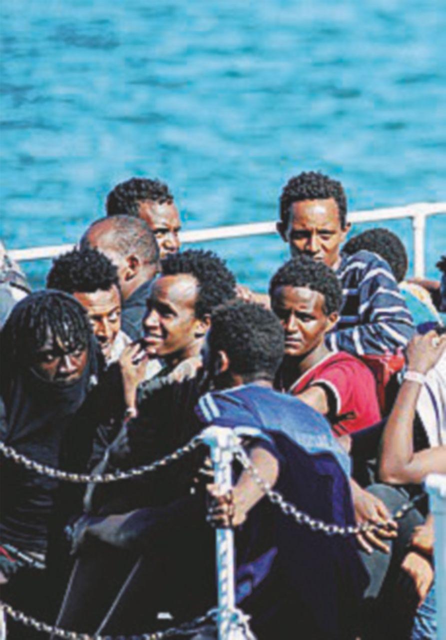 3400 migranti tratti in salvo nel Canale di Sicilia