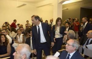 La sala del circolo della Pallacorda a Milano