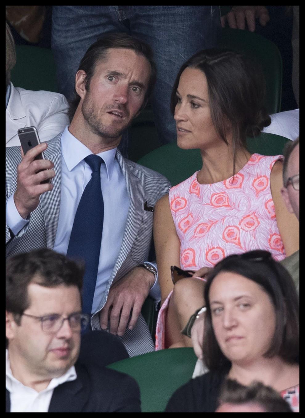 I neo fidanzati a Wimbledon 2016
