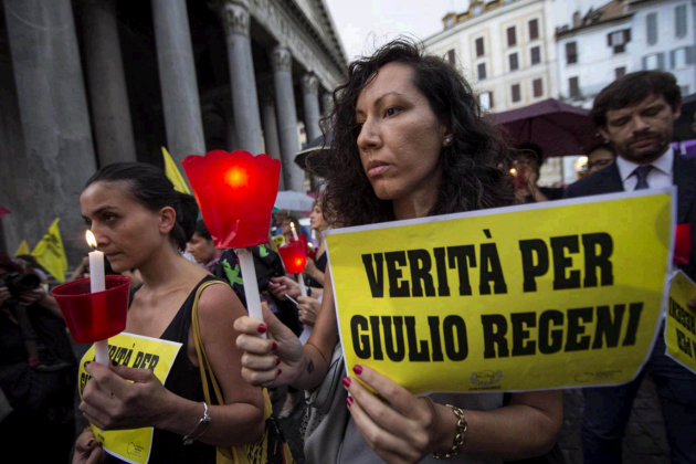 """Giulio Regeni, manifestazione a Roma a sei mesi dalla scomparsa: """"Istituzioni italiane non hanno fatto abbastanza"""""""