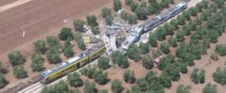 Puglia, scontro frontale tra due treni nel tratto a binario unico tra Corato e Andria: 25 morti e 50 feriti