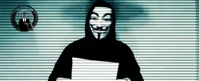 """Anonymous: """"Sottratte informazioni riservate italiane"""". C'è anche scambio di mail su visita Gentiloni a Bologna domani"""