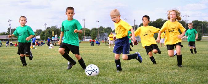 Risultati immagini per crescere giocando a calcio
