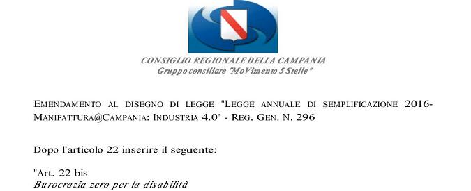 Campania, burocrazia zero per i disabili? Non se ne parla proprio