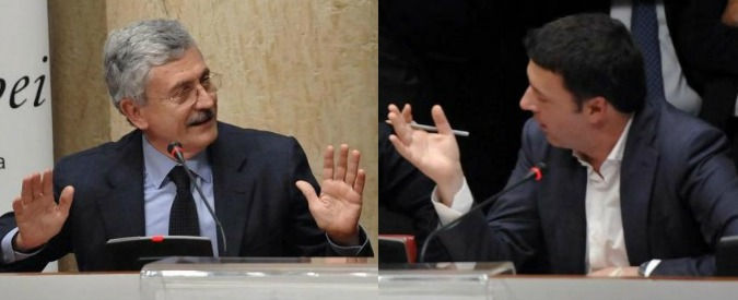 """Renzi ha un problema: l'Ulivo 2.0 di D'Alema e Bersani è una cosa seria. """"Se non apre al dialogo finiranno lui e il Pd"""""""