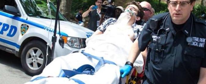 Usa, esplosione di un ordigno a Central Park di New York: un ferito. Allarme vicino ai funerali di Elie Wiesel