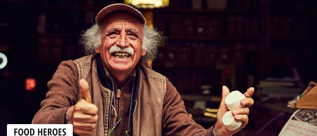 La storia di Vittorio Beltrami, capraro e produttore di formaggi nelle Marche