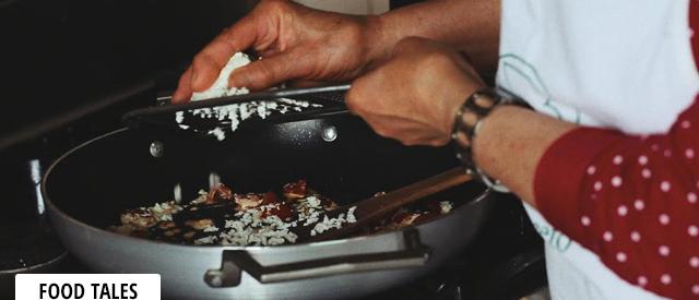 La ricetta delle mezze maniche con pomodoro e caprino al basilico fresco della signora Elide