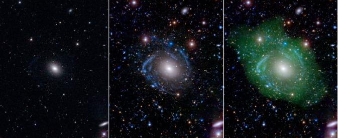 Scoperta la galassia Frankestein da un gruppo di ricerca guidato da studenti