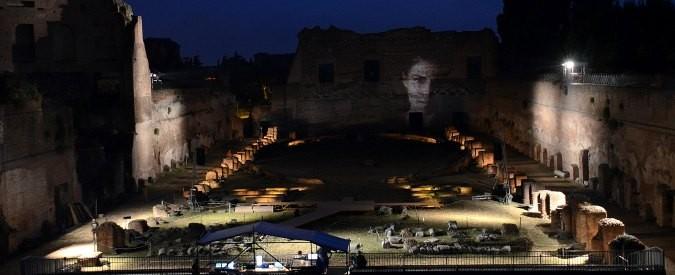 Roma: 'Storia di Palamede', un incantesimo allo Stadio di Domiziano
