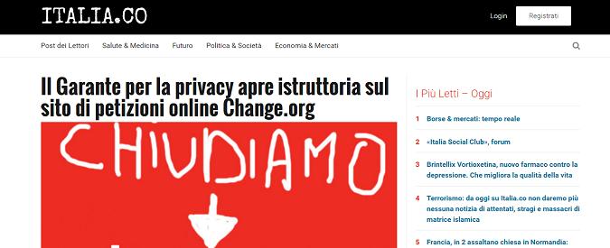 Terrorismo, basta fare da megafono ai jihadisti. Italia.co smette da oggi