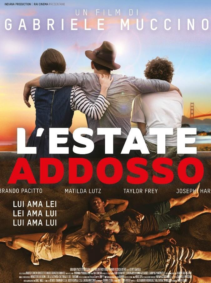 L'Estate addosso, l'ultimo film di Gabriele Muccino al Festival di Venezia. E il 15 settembre nelle sale