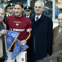 Con Francesco Totti
