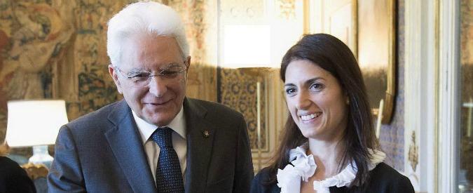 """Virginia Raggi: """"Incontro con Renzi dopo l'estate per rinegoziare il debito. Ottobre buon mese per tirare le somme"""""""
