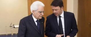 Legge elettorale: dopo la Consulta Renzi lavora per le elezioni, Mattarella frena