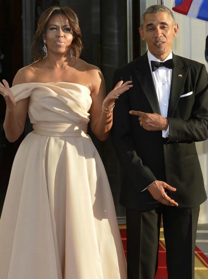 E se Barack e Michelle Obama venissero a mangiare il pollo a casa tua?