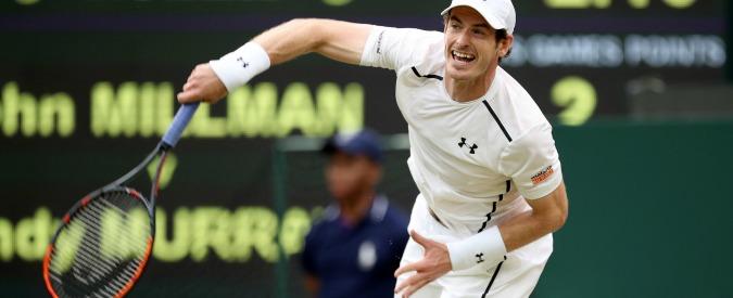 Wimbledon 2016, fuori Djokovic: ora il favorito è Andy Murray