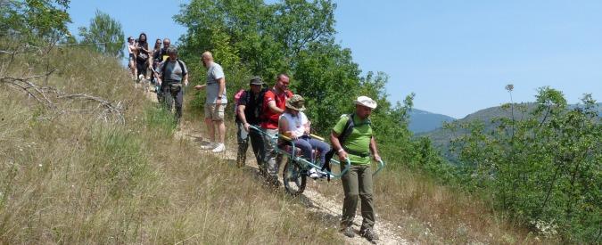 Natura senza barriere, una giornata di escursionismo condiviso
