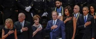 """Dallas, Obama ai funerali degli agenti uccisi: """"Nessuno è immune dal pregiudizio razziale. Ma non siamo divisi"""""""