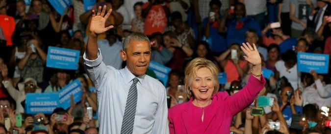 """Elezioni Usa 2016, Obama lancia Hillary Clinton verso la presidenza: """"La mia fiducia in lei è sempre stata ripagata"""""""