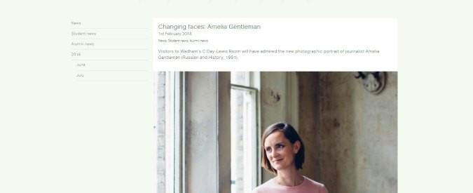 Oxford si scopre femminista, non solo uomini bianchi nei ritratti