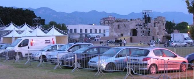 Palermo: dancing e parcheggi nell'area archeologica di Castello a Mare