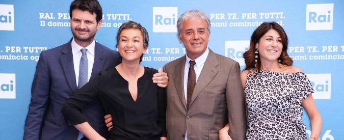 Europei 2016, per Flavio Insinna altri quattro pacchi: i nuovi direttori di rete in diretta. Prossima tappa per presentare i palinsesti? L'Angelus del Papa