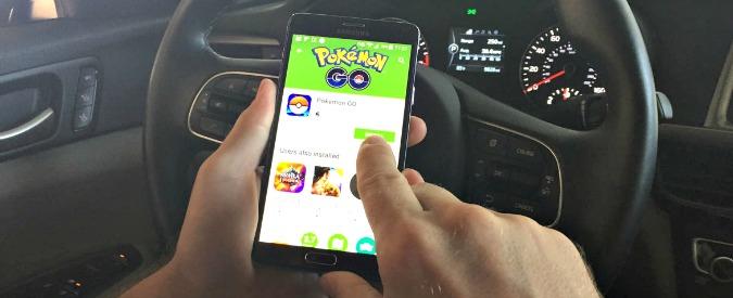 Pokémon Go, al volante sono un pericolo. L'incidente stradale è dietro l'angolo