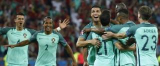 Portogallo-Galles 2-0: Cristiano Ronaldo e Nani stendono Gareth Bale e vanno in finale