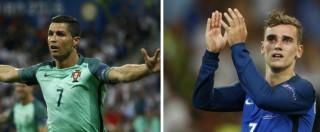 Portogallo – Francia, finale tra due squadre agli antipodi. Ronaldo e Griezmann di nuovo contro