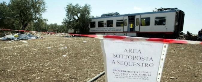 Scontro treni Puglia: alle Ferrovie non mancano risorse, manca efficienza