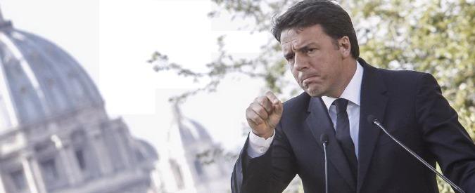 """Banche, Renzi minimizza e rilancia: """"Ue rifletta, i nostri crediti deteriorati meno gravi dei derivati che hanno altri"""""""