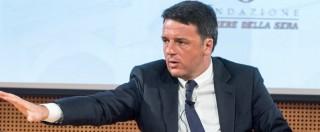 """Banche, Renzi: """"L'accordo con Ue è a portata di mano"""". Sul referendum: """"Lo spacchettamento non sta in piedi"""""""