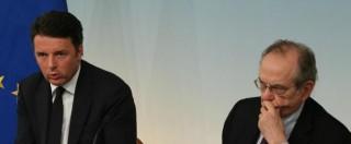 Banche, le favole (smentite) del governo su Mps e sulla vendita delle nuove PopEtruria, Marche, Carife e Carichieti