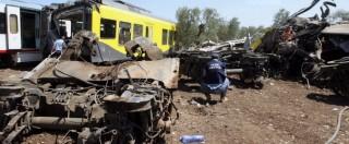 """Scontro treni in Puglia, avviso di garanzia per gli indagati: """"Hanno causato l'incidente"""". Il procuratore: """"Riduttivo parlare di errore umano"""""""