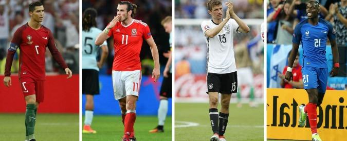 Francia-Germania, la finale anticipata di Euro 2016. Chi vince affronterà la sorpresa Galles o il fortunato Portogallo