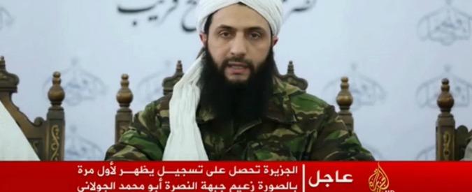 """Siria, al-Nusra si stacca consensualmente da al Qaida. Casa Bianca: """"Rimane pericoloso per Usa ed Europa"""""""
