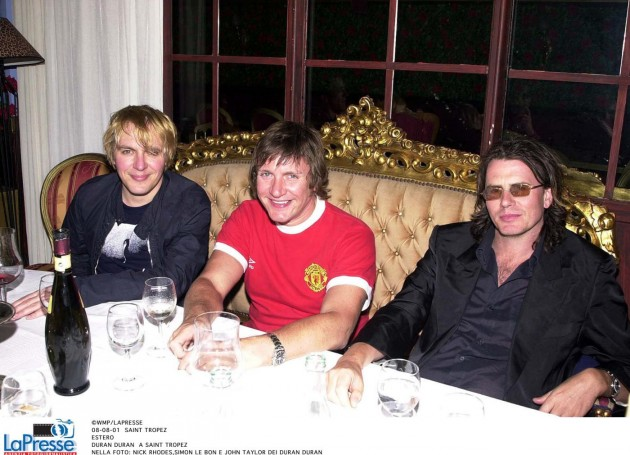 Nick Rhodes, Simon Le Bon e John Taylor dei Duran Duran