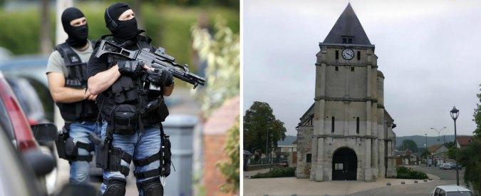 Rouen, attacco chiesa. Parente del killer: 'Giurò sul Corano che l'avrebbe fatto'