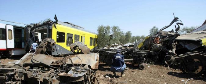 """Scontro treni Puglia, """"sulla tratta Corato-Andria sarebbero bastati meno di 400mila euro per azzerare i rischi"""""""