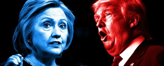 Elezioni Usa, sarà scontro tra la deriva conservatrice di Hillary Clinton e la rivoluzione reazionaria di Donald Trump