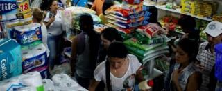 Crisi in Venezuela, migliaia di cittadini in Colombia per comprare beni di prima necessità