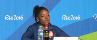 """Olimpiadi Rio 2016, Simone Biles: """"L'Olimpiade come un sogno"""" – VIDEO"""