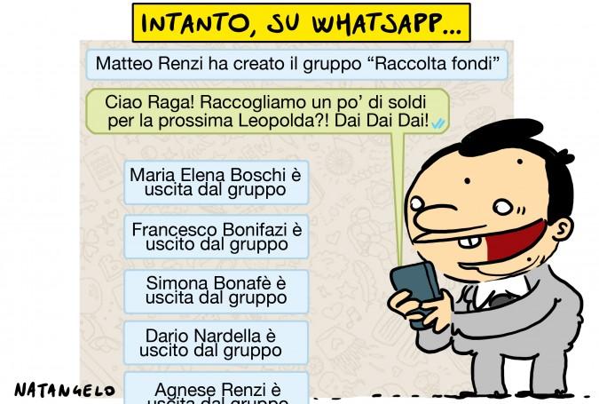 Intanto, su Whatsapp…